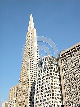 Edifícios: arranha-céus Imagem de Stock Editorial