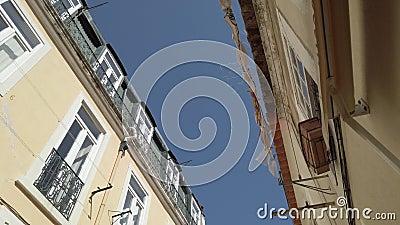 Edif?cios em Lisboa video estoque
