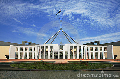 Edifício australiano do parlamento, Canberra