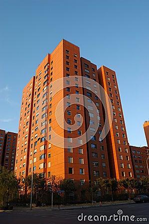 Edifício de apartamento