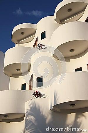 Edifício de apartamento moderno