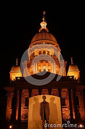 Edificio del capitolio del estado de Illinois