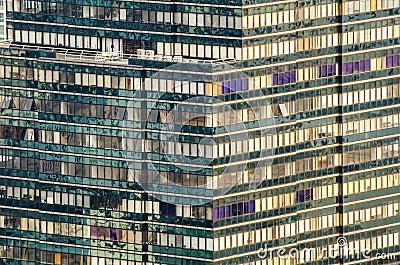 Edificio moderno del modelo