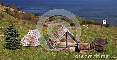Edificios célticos antiguos