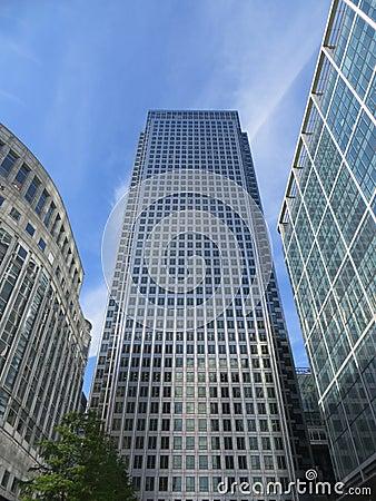 Edificios de Canary Wharf