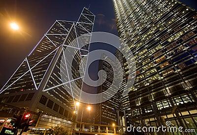 Edificios de oficinas urbanos