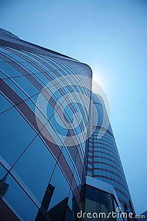 Edificios en perspectiva