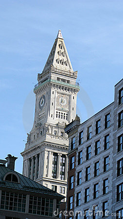 Edificios y señal de Boston