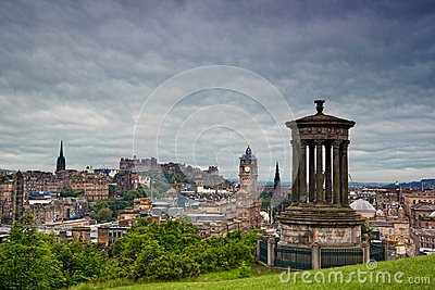 Edinburgh from Calton Hill, Scotland