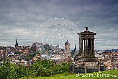 Edinburgh from Calton Hill, Scotland
