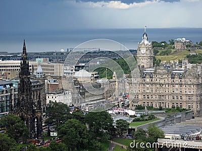 Edinburgh, the capital of Scotland.