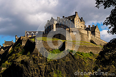 Edinburgh Castle Stock Photo - Image: 25749820