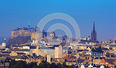 Edinburgh Castle and St Giles