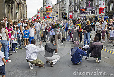 Edinburgh Festival Fringe Editorial Photo
