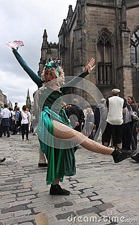Edinburgh Fringe Festival 2011 Editorial Photo