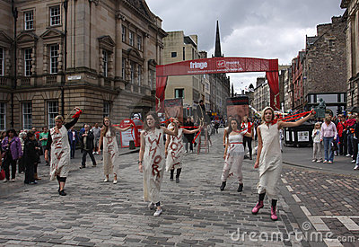 Edinburgh Fringe Festival 2011 Editorial Stock Image
