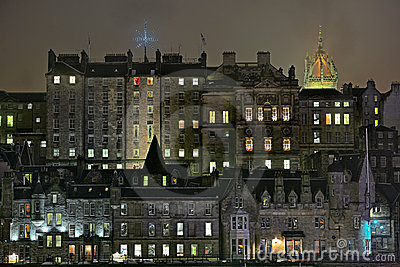 Edinburgh, Scotland, Old Town, mediaeval buildings