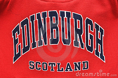 Edinburgh, Scotland - University style sweatshirt