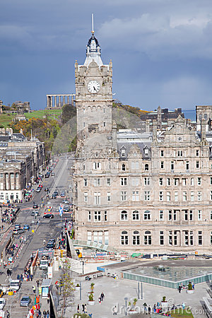 Edinburgh Skylines building