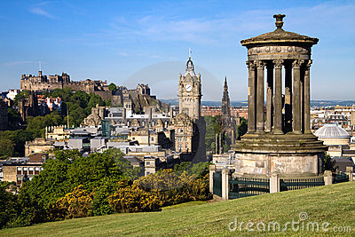 Edinburgh Summer City View