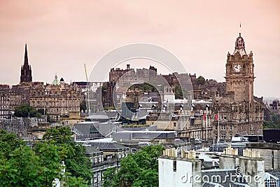 Edinburgh vista from Calton Hill