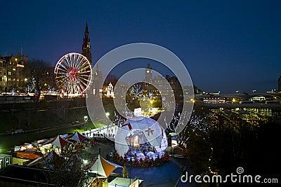 Edinburgh winter fair