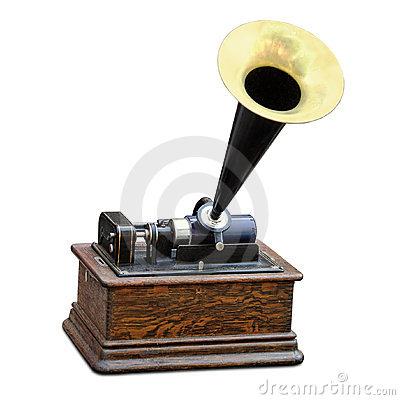 Free Edison Phonograph Stock Photography - 10284802