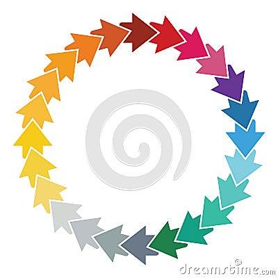 Editable Color Wheel Template Images Image 22639144 – Editable Leaf Template