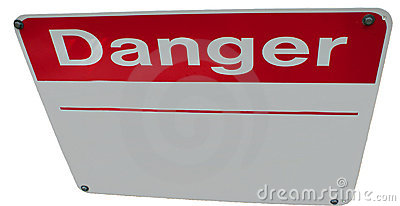 Editable Danger Sign