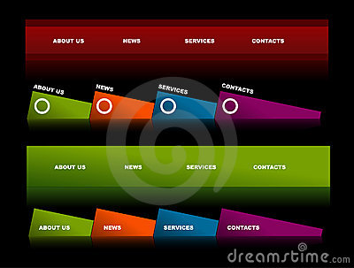 Editable website navigation templates 2