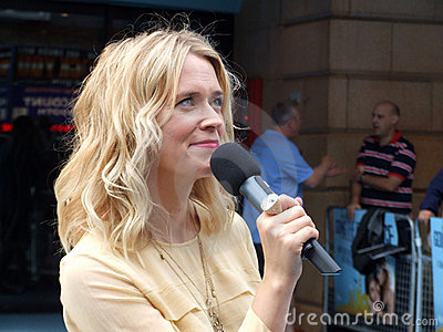 Edith Bowman At Going The Distance Premiere Editorial Image