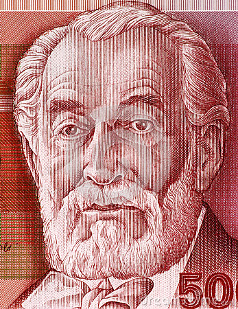 Edmond James de Rothschild Editorial Stock Image