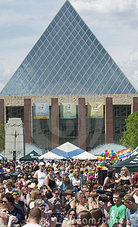 Edmonton City Hall Editorial Stock Image