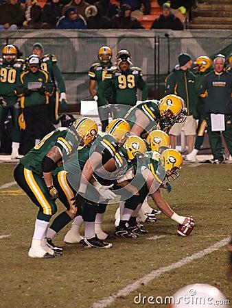 Edmonton Eskimos vs. B.C. Lions 2 Editorial Image