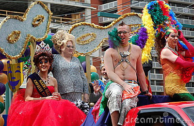 Edmonton gay pride parade Editorial Photo
