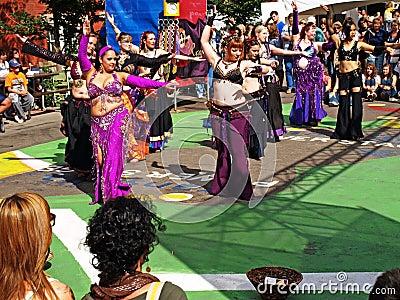 Edmonton international fringe theatre festival. Editorial Photography