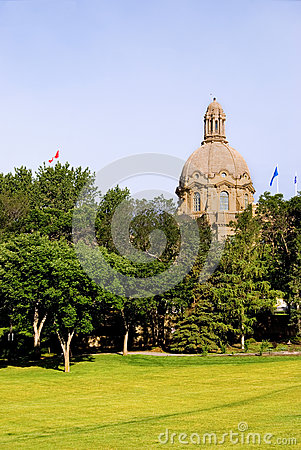 Edmonton Legislative Building of Alberta