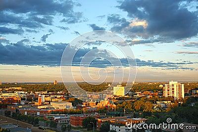 Edmonton in the morning