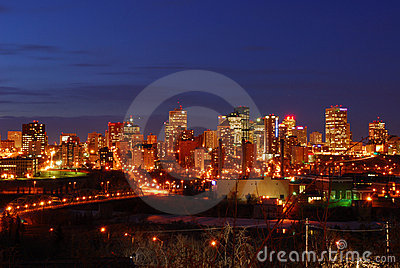 Edmonton nightshot