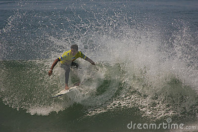 Eduardo Fernandes (PRT) in ASP World Qualifier Editorial Photo