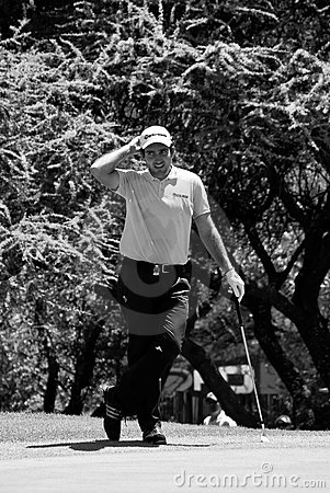 Eduardo Molinari sul settimo verde - NGC2010 Fotografia Editoriale