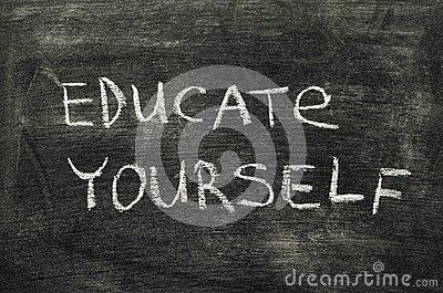 Educate Yourself Stock Photography | CartoonDealer.com ...