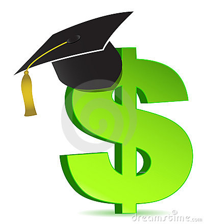 Free Education And Dollar Sign Stock Photos - 18903133