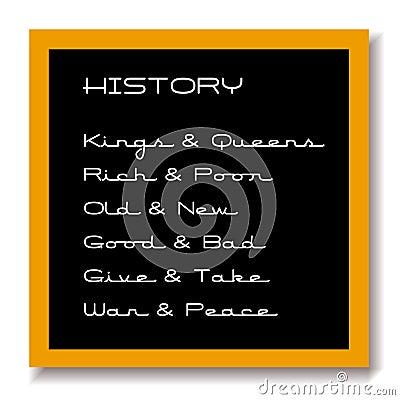 Education black board history