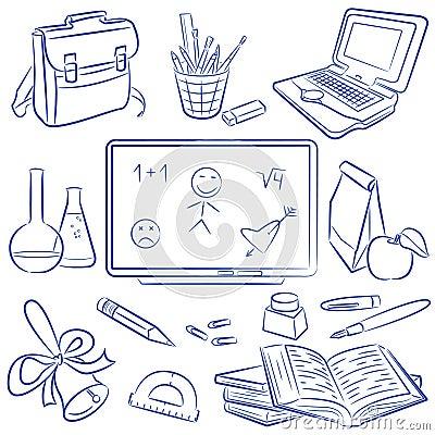 Education doodle