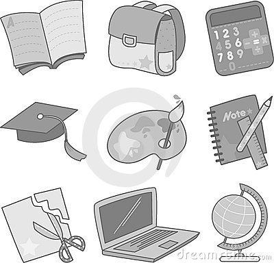 Education Icons Stock Photos - Image: 22418283