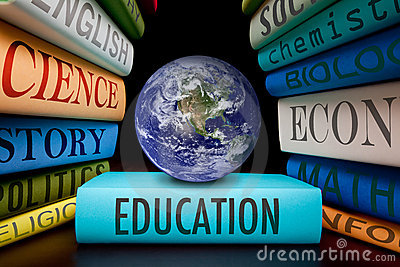 Education school books study to learn