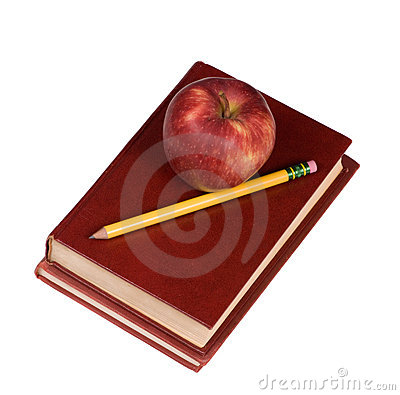 Education Series (apple and book 2)