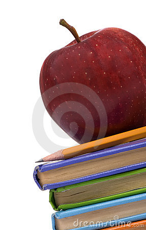 Education Series (Apple on books angle)