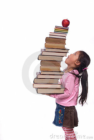 Free Education (sky High Books) Royalty Free Stock Photo - 2548765